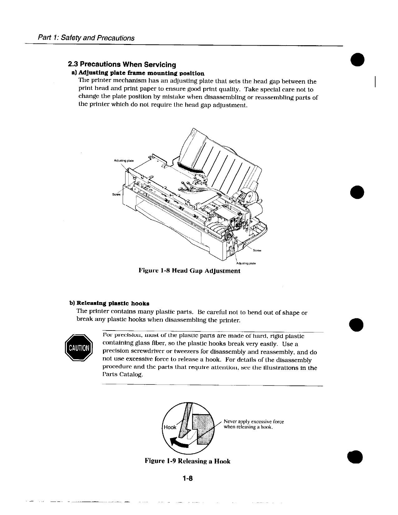 Canon BubbleJet BJC-600 600e Service Manual-2